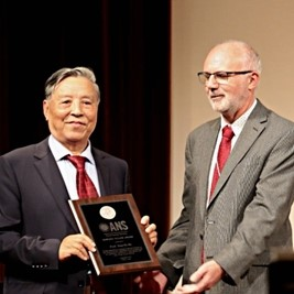 Academician Xian-Tu He of Center for Applied Physics and Technology, Peking University (CAPT)awarded the 2019 Edward Teller Award